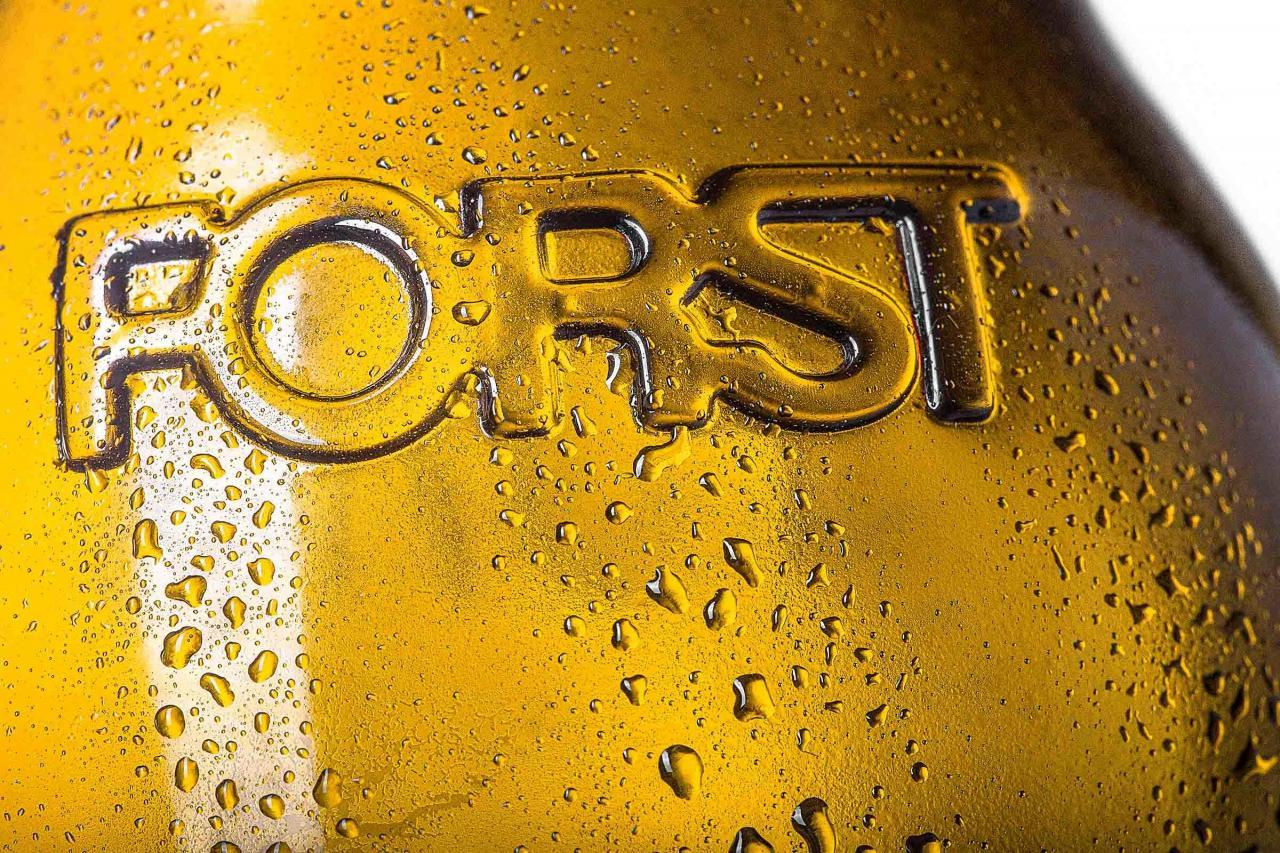 Fotografia pubblicità birreria Forst, Lagundo
